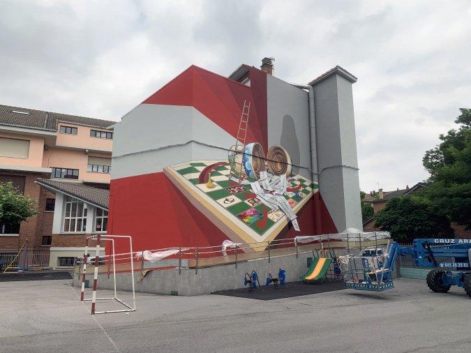 La Cosecha Foto Muralismo Público