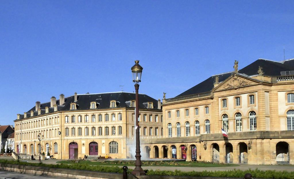 La Ópera y Teatro. Foto Gisselbrecht -Turismo de Metz