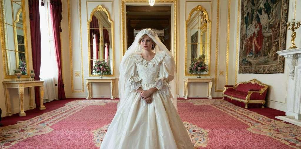 Lady Di en la temporada 4 de The Crown. Foto Netflix.