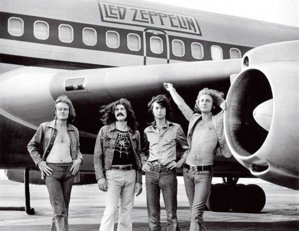 Led Zeppelin con The Starship