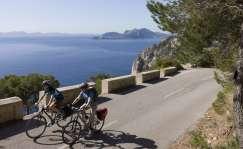 Faro de Formentor en bici. Foto: Getty Images.
