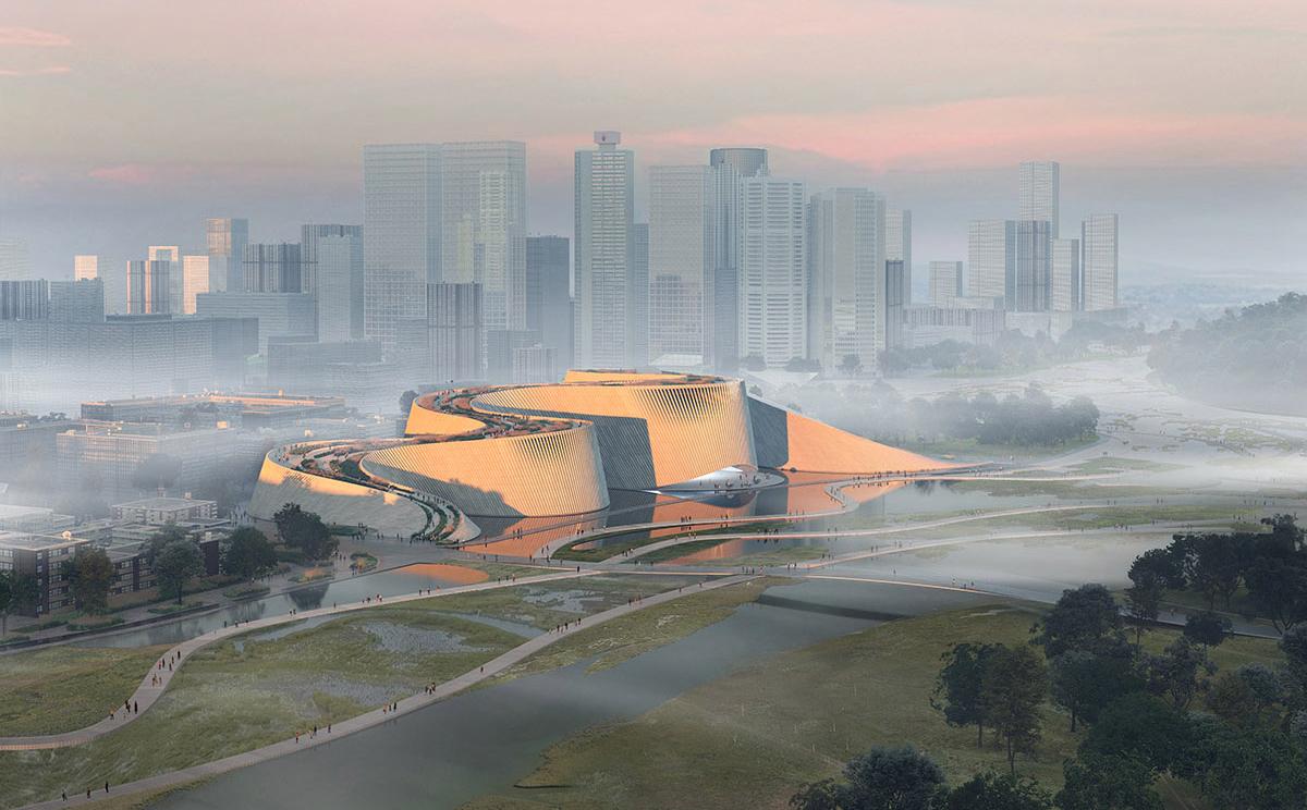 Museo de Historia Natural de Shenzhen. Imagen: 3XN.