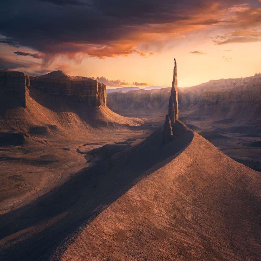 Photo3rd_Chance Allred_Hanksville Utah Sunset. The International Landscape Photographer of the Year