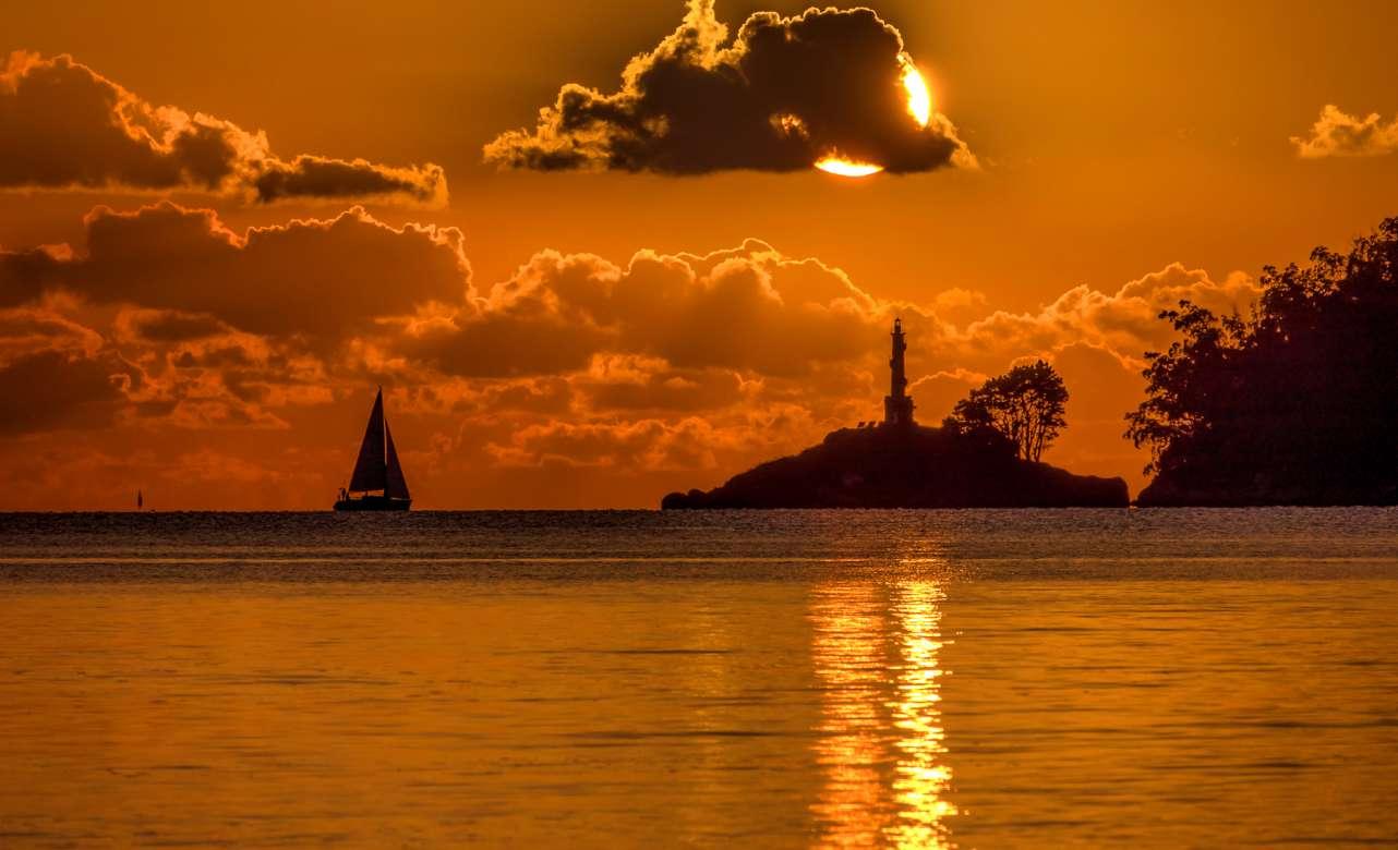 Atardecer en Playa Lourido Foto Gabriel Gonzalez-Flickr