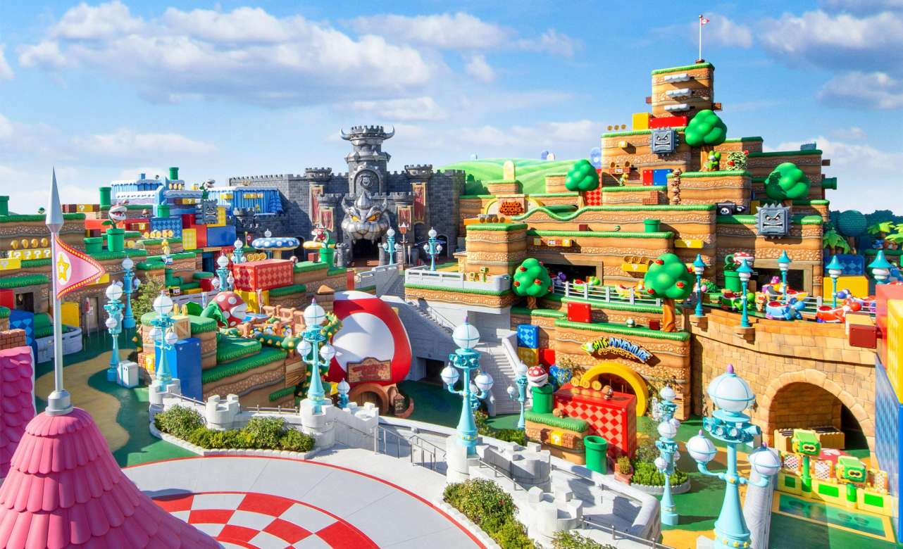Super Nintendo World. Foto Universal Studios Japan.
