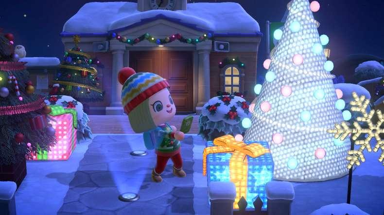 Winter update Animal Crossing