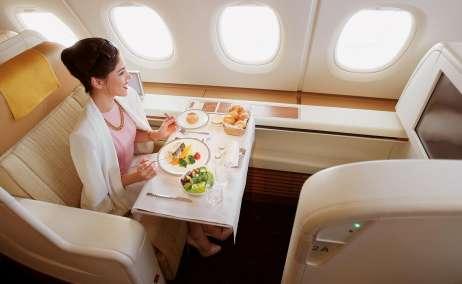 thai Airways primera clase