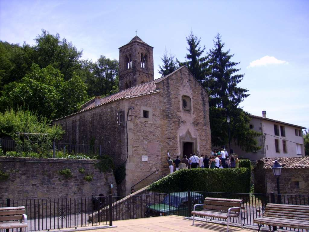 Iglesia de Sant Esteve de Tavèrnoles. Foto Wikipedia