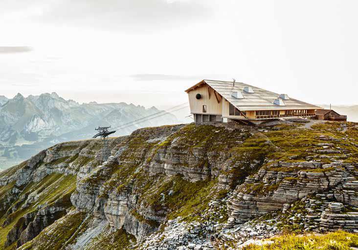 La cima del Chäserrugg. Foto Turismo de Suiza