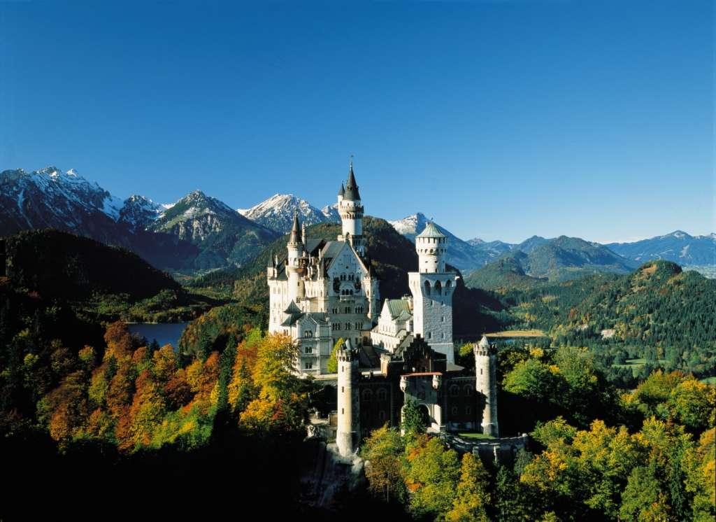 Castillo de Neuschwanstein. Foto Turismo de Bavaria