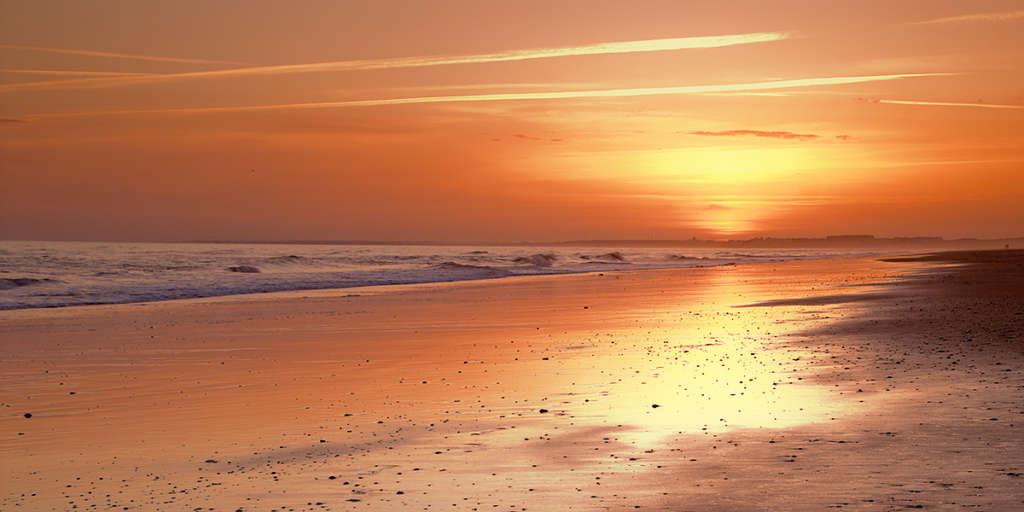 Atardecer en Punta Umbria. Foto Luis Marin Flickr