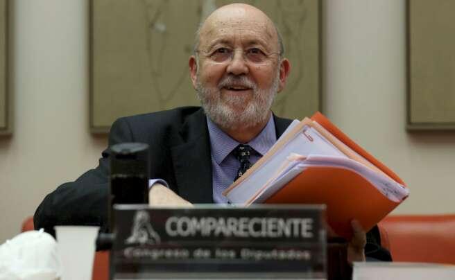 El presidente del CIS, José Félix Tezanos, en una comparecencia en el Congreso de los Diputados el 19 de mayo de 2020 | EFE/KH
