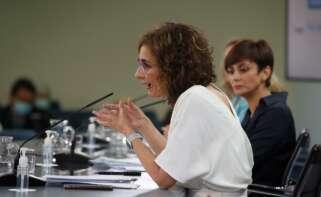 María Jesús Montero anunció un techo de gasto récord para 2022. / / EFE