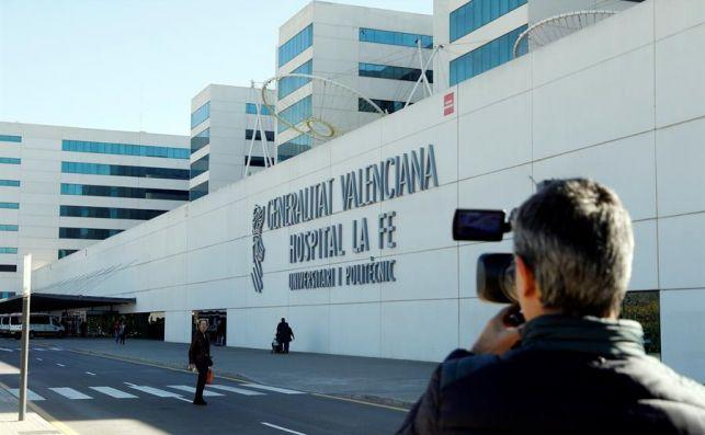 Hospital La Fe. EFE.