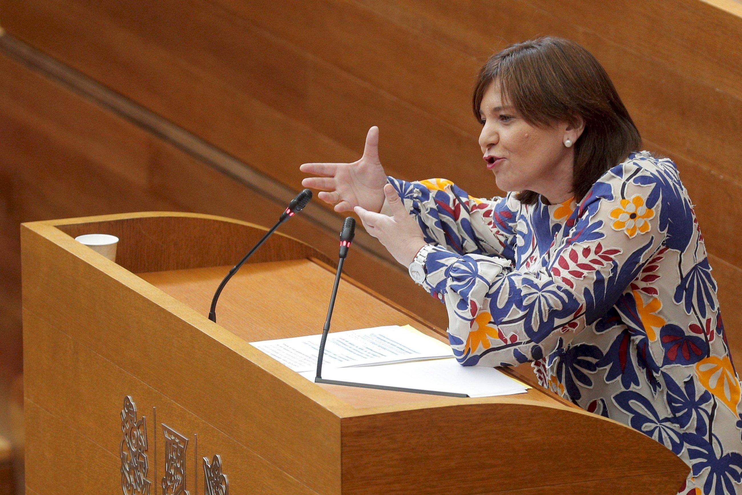 """Bonig, la candidata """"cañera"""" a la que el éxito de Feijóo refuerza. EFE/Kai Försterling"""