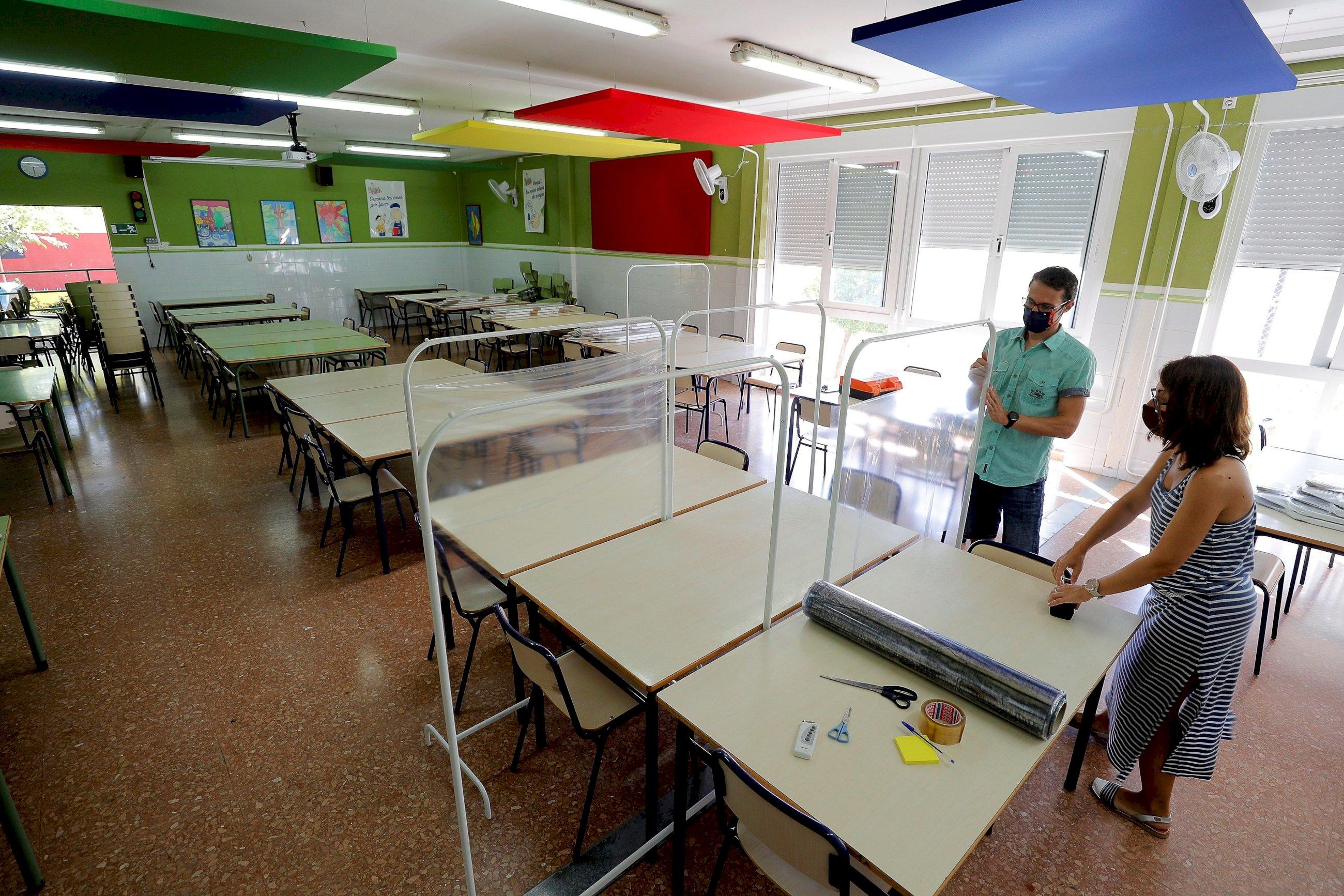 Colegios de la Comunitat Valenciana, preparados para el inicio del nuevo curso escolar / EFE