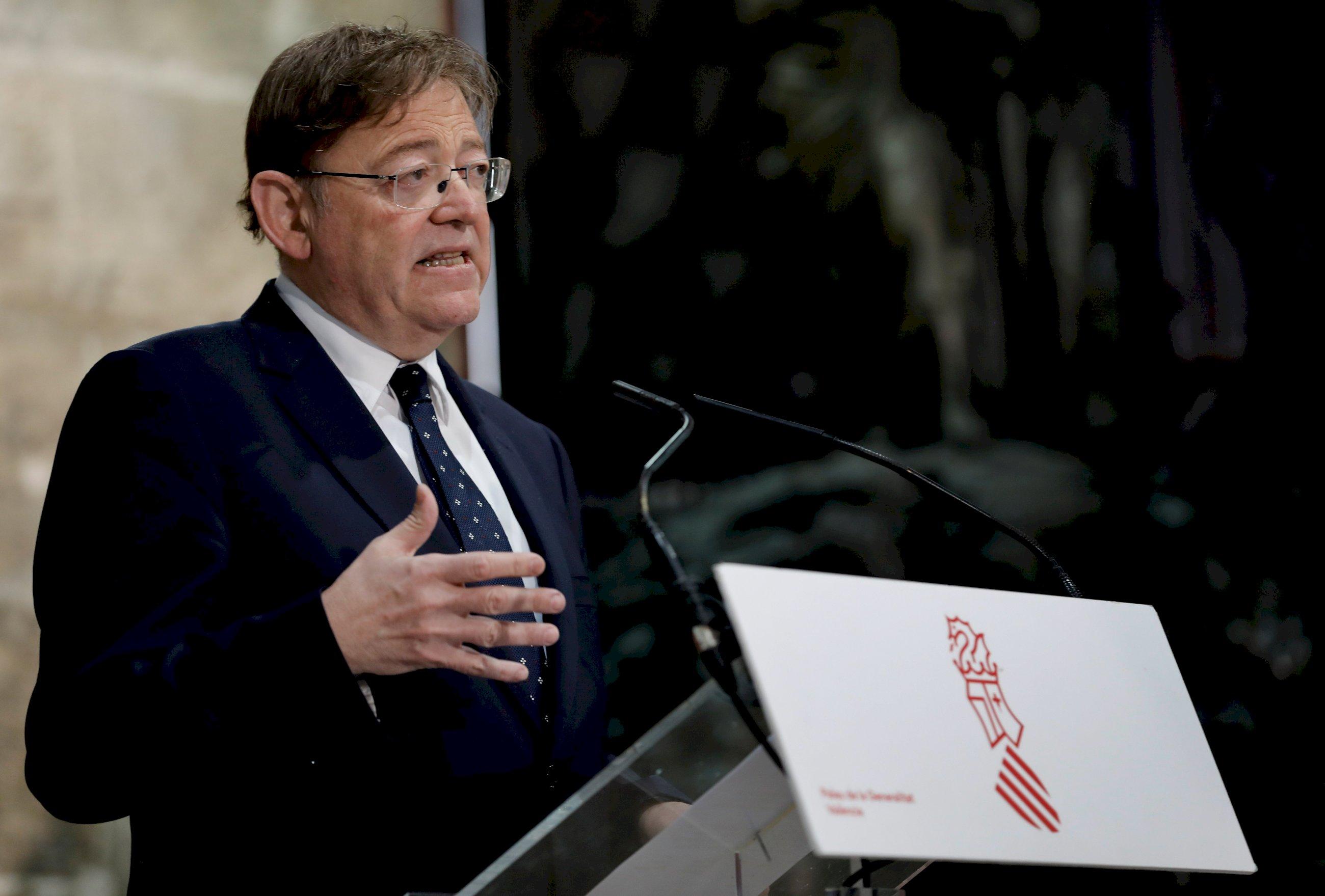 el presidente de la generalitat valenciana ximo puig efe