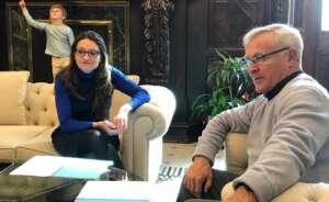 joan ribo alcalde de valencia y monica oltra vicepresidenta de la generalitat 1