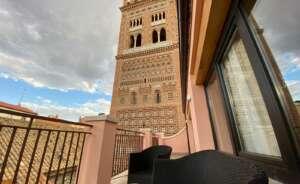 vistas desde el atico vertigo del apartamento turistico one teruel