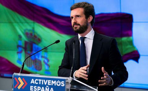 Pablo Casado anuncia que si prospera la enmienda del PSOE, Podemos y ERC para eliminar el castellano como lengua vehicular llevará la ley Celaá a los tribunales