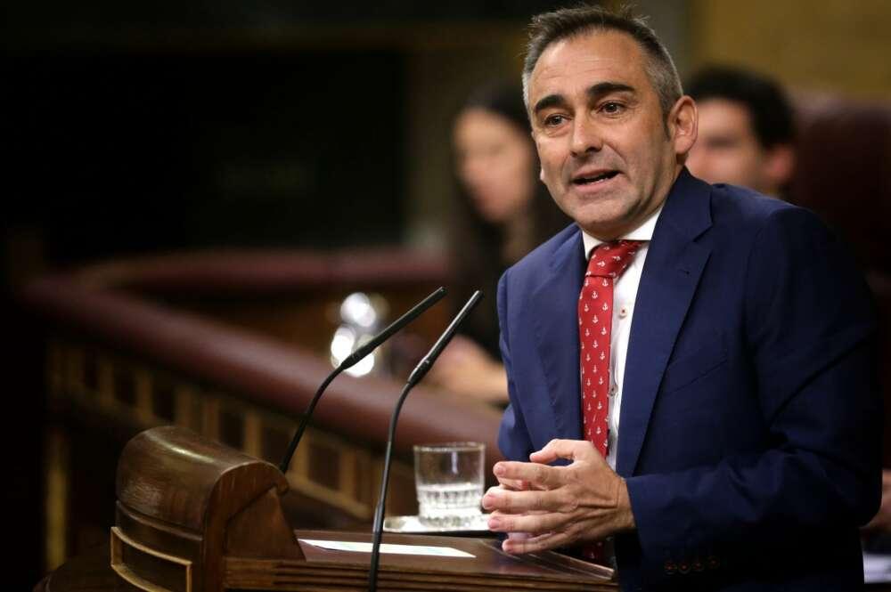 El diputado del PP y presidente del partido en Castellón, Miguel Barrachina./ Flickr PP Congreso