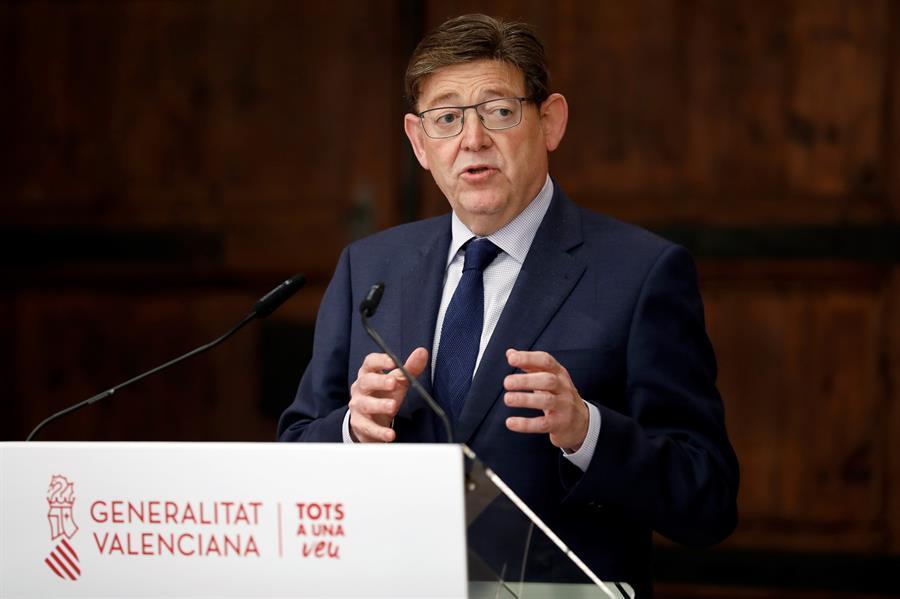 El president de la Generalitat, Ximo Puig. EFE/Ana Escobar/Archivo