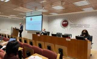 Presentación informe AIReF