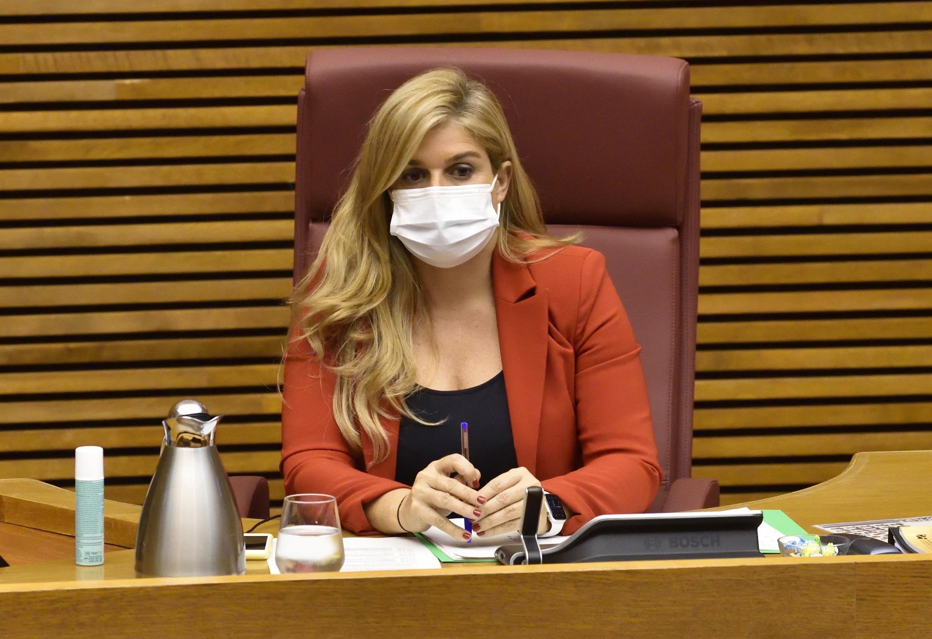 La diputada del PP Eva Ortiz - I. CABALLER/CORTS - Archivo