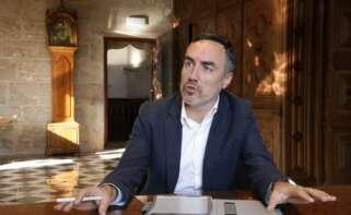 El director general de Coordinación de Acción del Gobierno y responsable de la Oficina de la Estrategia Valenciana para la Recuperación, Juan Ángel Poyatos.