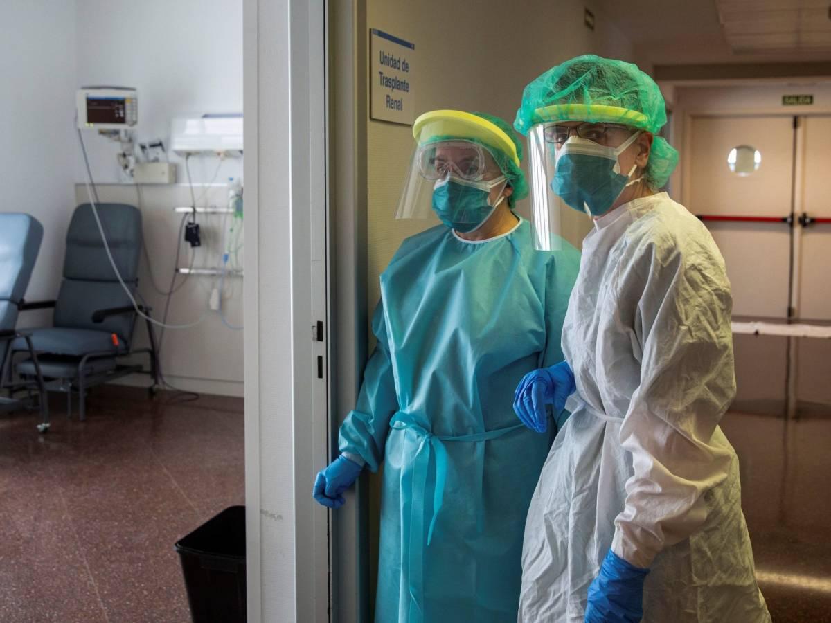 siete de cada 10 enfermeras denuncian haber trabajado sin proteccion pasamos turnos de 14 horas con la misma mascarilla