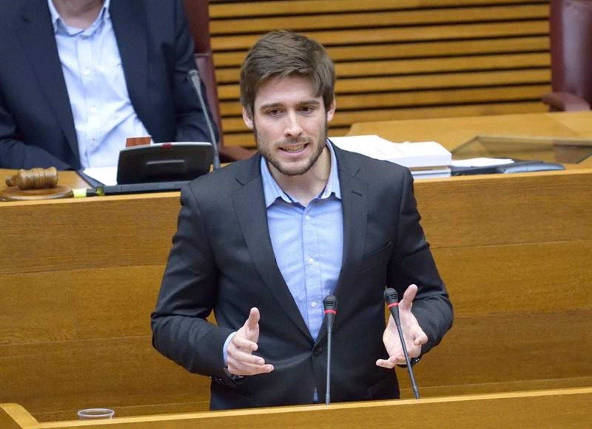 El portavoz de Empleo del PP en Les Corts Valencianes, Juan Carlos Caballero - CORTS VALENCIANES - Archivo
