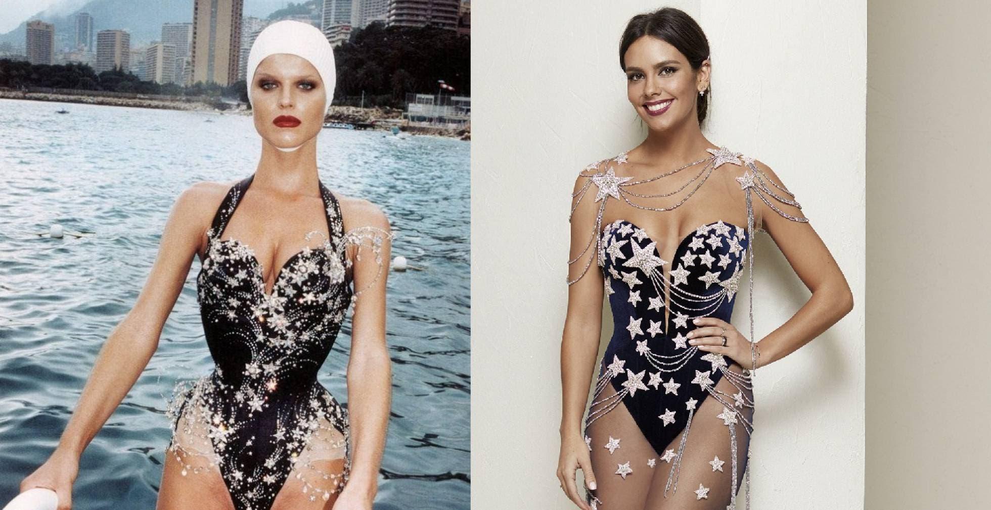 Comparación de los dos vestidos