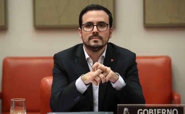 Alberto Garzón, ministro de Consumo./ EFE