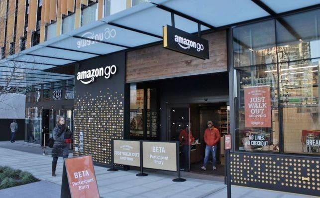 La tienda autónoma de Amazon Go inaugurada en Seattle en 2016