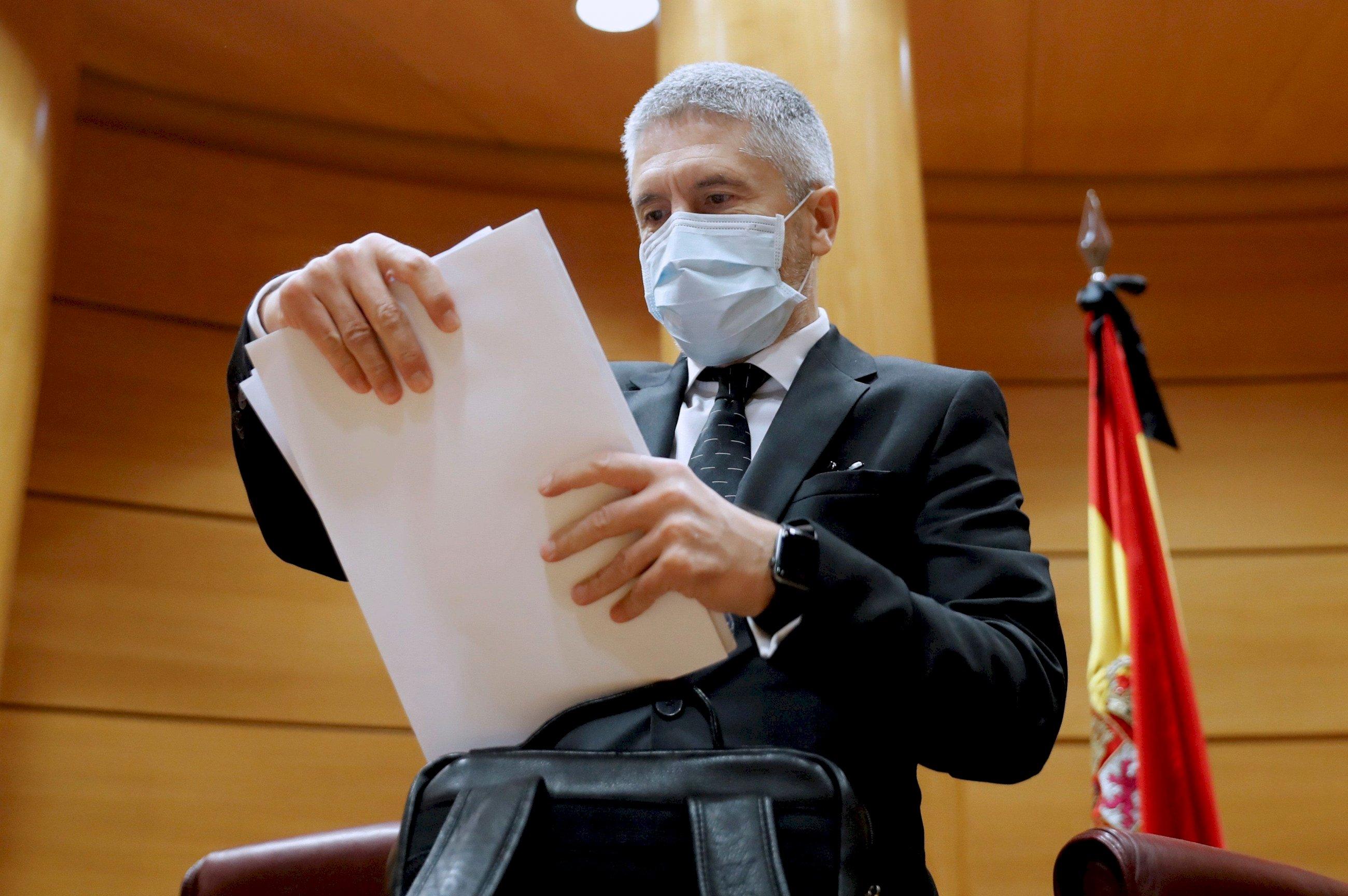 La Fiscalía acusa a Marlaska de saltarse la ley para devolver a los menores marroquíes