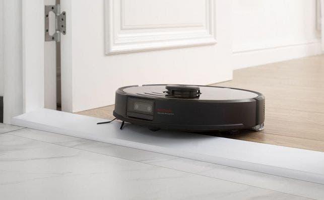 El Roborock S6 MaxV puede sortear desniveles de hasta 2 cm