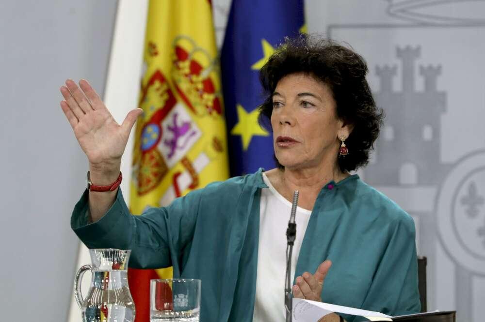 Isabel Celáa./ EFE