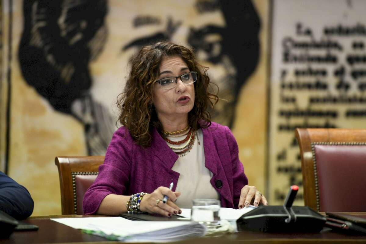 La ministra de Hacienda, María Jesús Montero. EFE