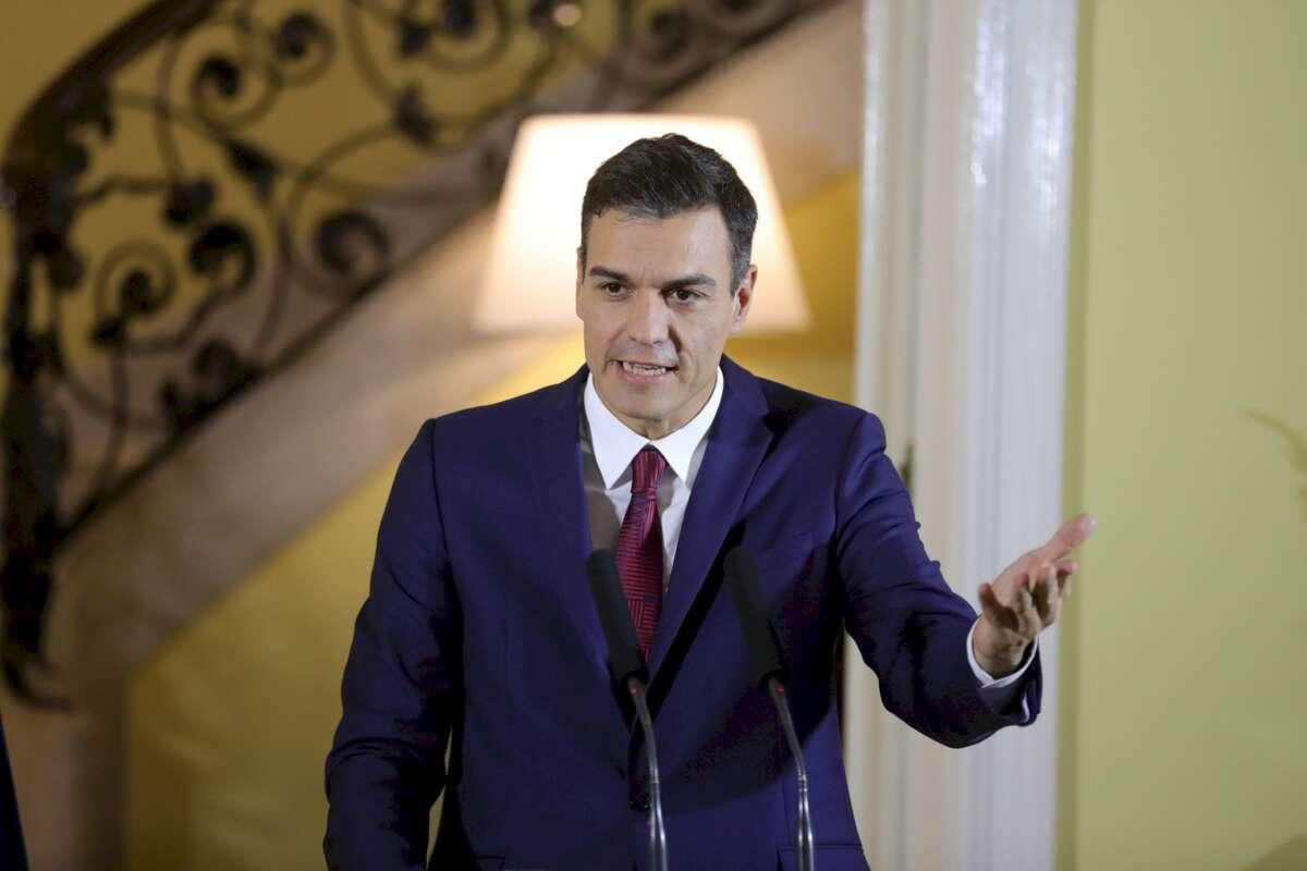 El presidente del Gobierno, Pedro Sánchez, EFE
