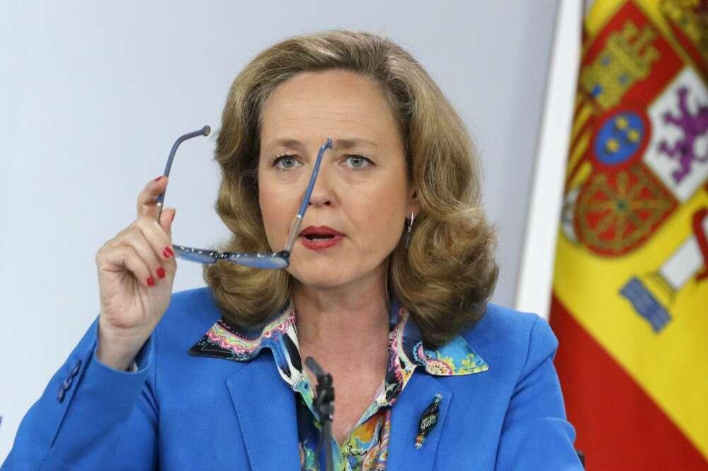 La ministra de Asuntos Económicos, Nadia Calviño, mantiene que la economía española crecerá un 7% en 2021