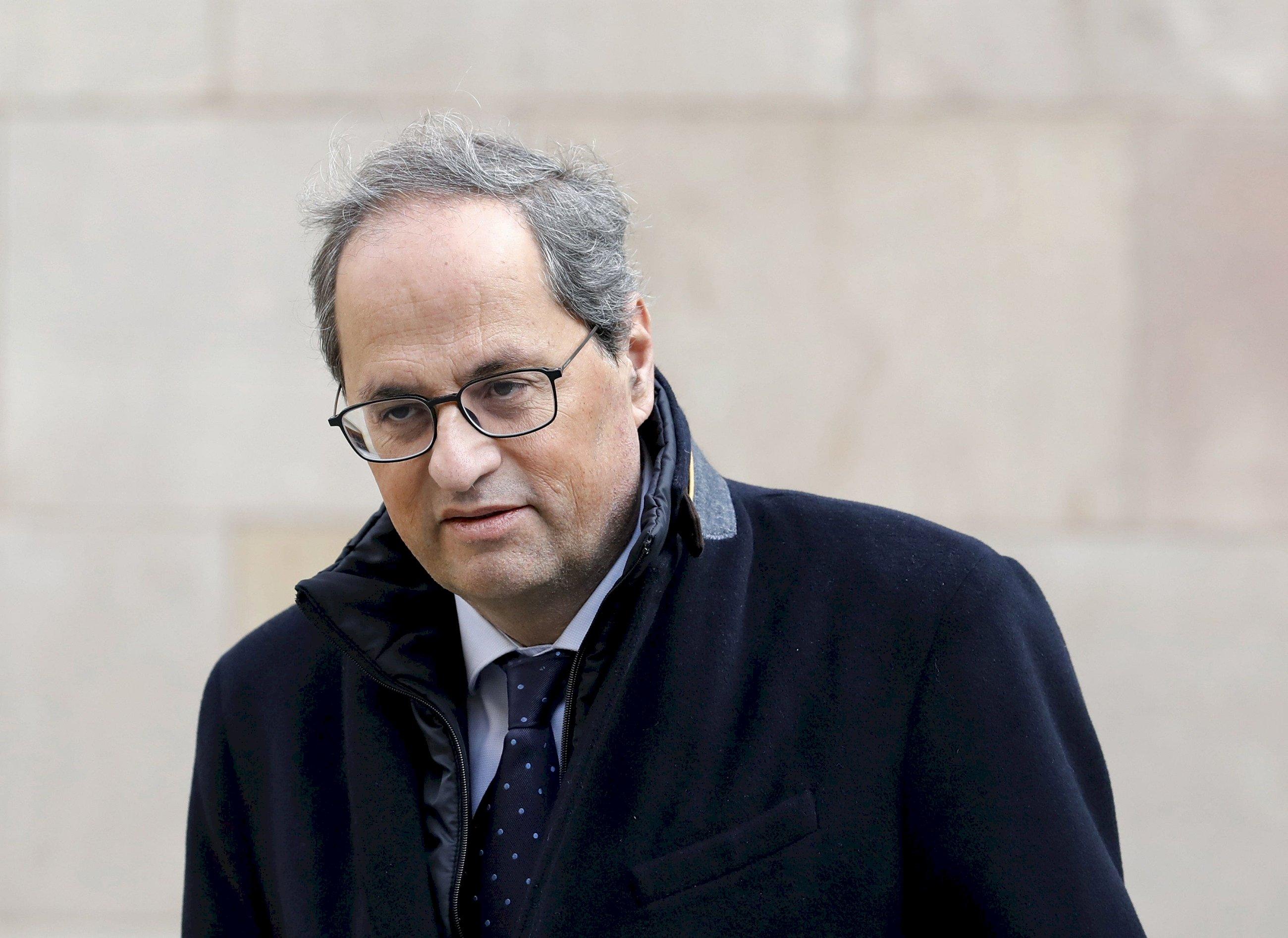 El expresidente de la Generalitat, Quim Torra | EFE/Archivo
