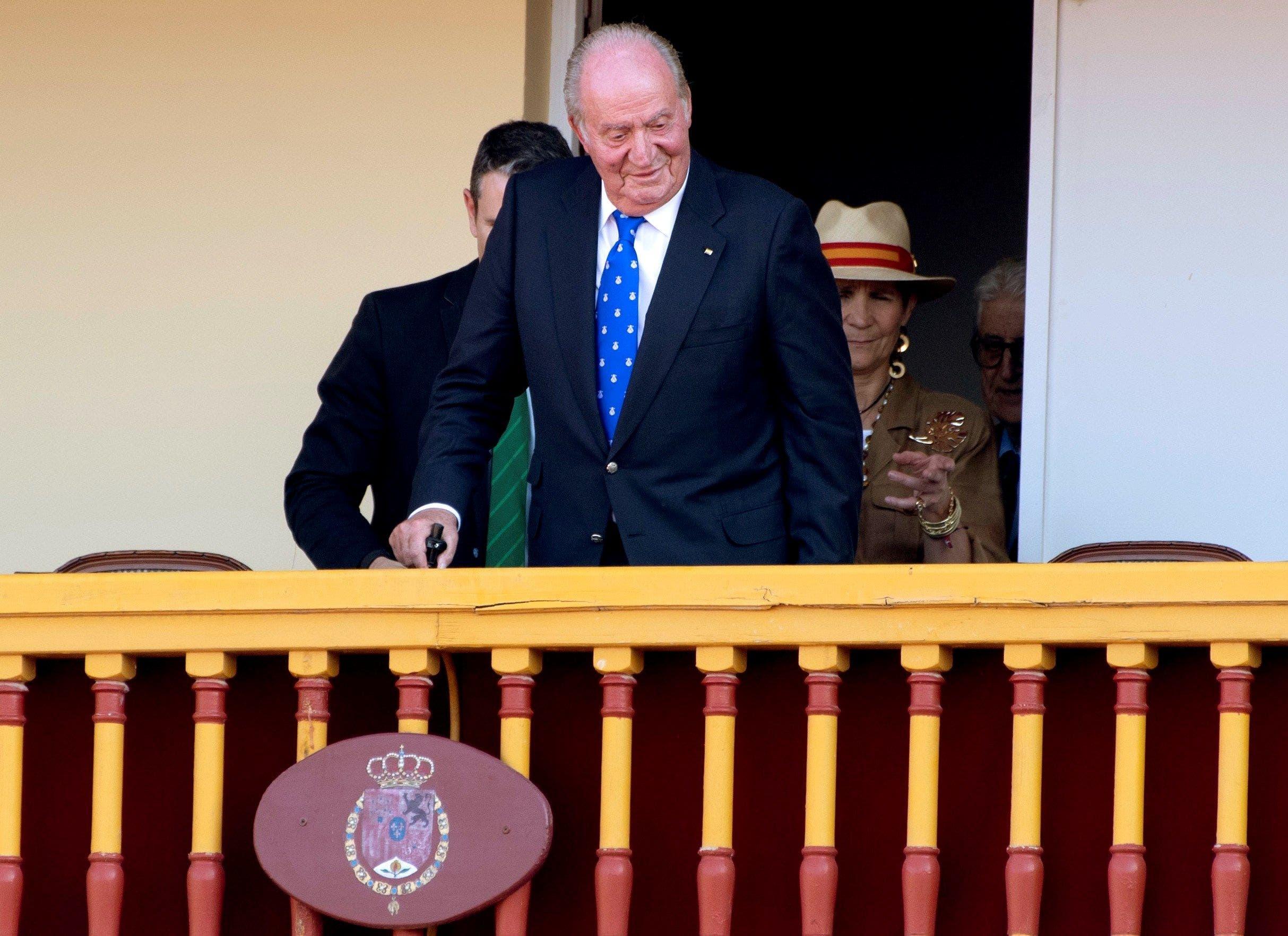 El Rey Juan Carlos I en un acto en Aranjuez (Madrid) en junio de 2019 | EFE/IH/Archivo