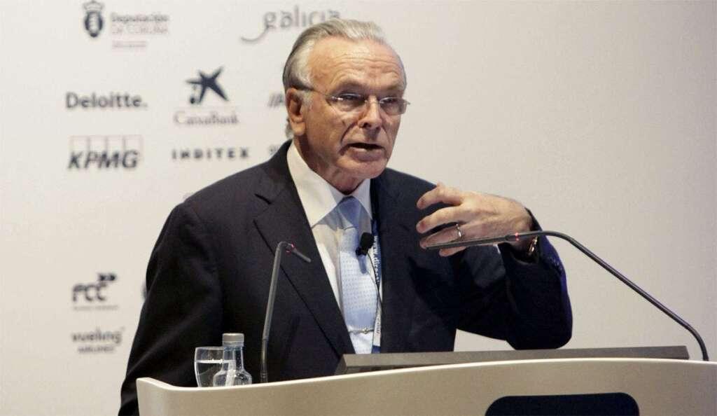 El presidente de Fundació Bancària La Caixa, Isidro Fainé. EFE