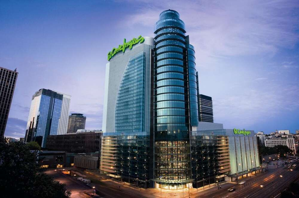 El centro comercial de El Corte Inglés de La Castellana, en Madrid, el más grande de la empresa española. Foto: El Corte Inglés
