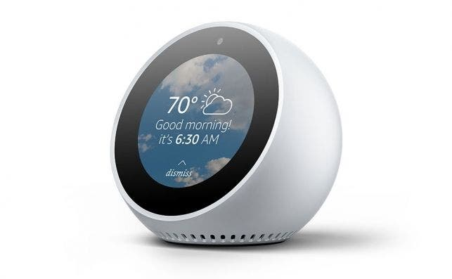 Amazon Echo Spot. Fotografía: Amazon