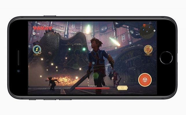 Apple new iphone se apple arcade screen 04152020