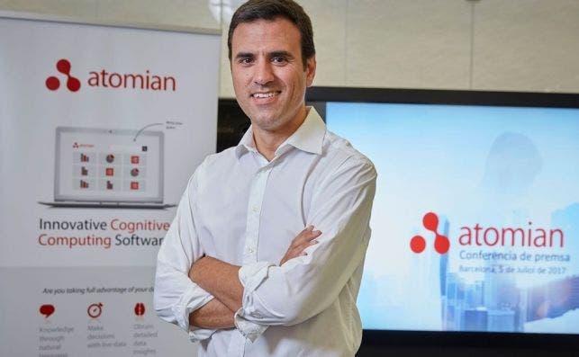 Miquel Montero, fundador y consejero delegado de Atomian, que desarrolla un sistema de inteligencia artificial.