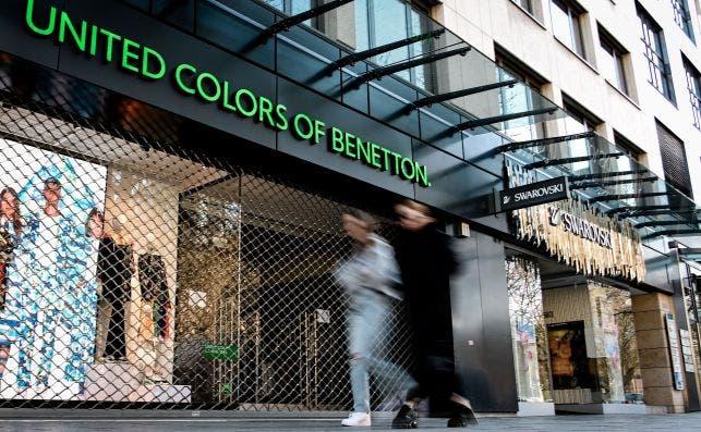 Tienda Benetton en Alemania. EFE