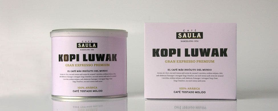 Café Saula fue pionera en importar a España el selecto Kopy Luwak.