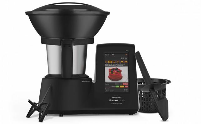 Robot de cocina Taurus Mycook Touch Black Edition. Foto: Mediamarkt